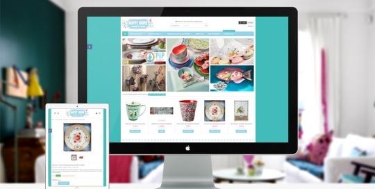 Creation de boutique internet: Happy Home Decor