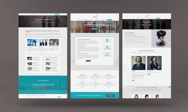 Creation site web: Schneider Linster Fiduciaire