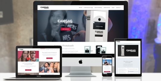 Web design: créeation site Internet Camgag