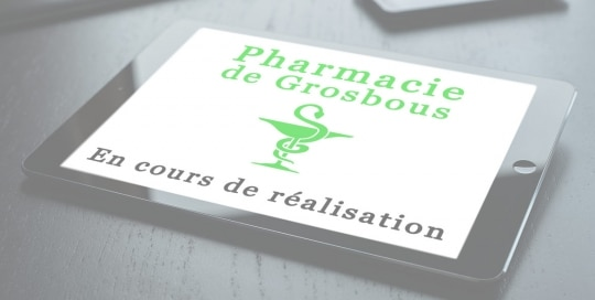 Création site web: Pharmacie de Grosbous